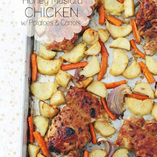 Baked Chicken Thighs With Potatoes And Carrots Recipes.