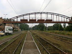 Photo: Tory, perony i wieża ciśnień {Skoczów; 2013-07-05}