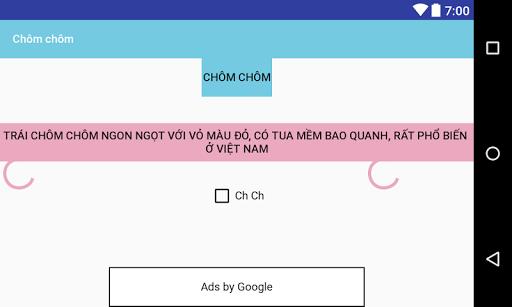 Chôm chôm screenshot 2