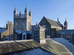 Photo: Marischal College from St Nicholas Centre, Aberdeen