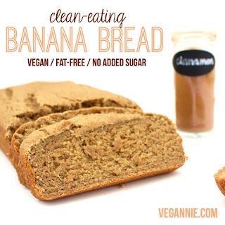 Clean-Eating Banana Bread