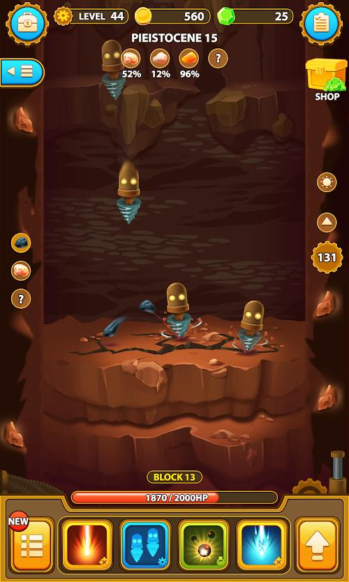Screenshot 2 Deep Town: Mining Factory 3.9.2 APK MOD