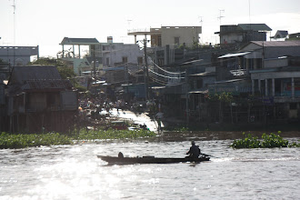 Photo: Year 2 Day 34 - Town Just Up the River from Chau Doc