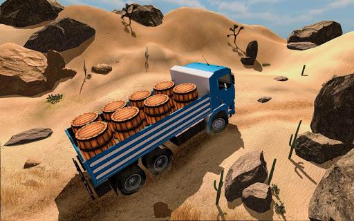 3D Truck Driving Simulator - Real Driving Games screenshot 7