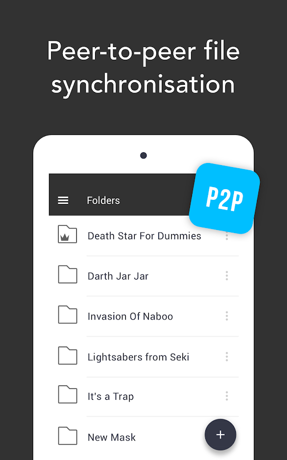 Sync- screenshot