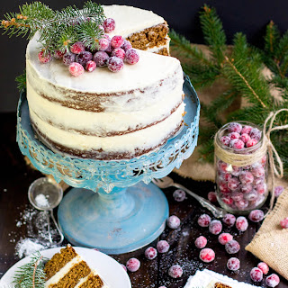 Gingerbread Layer Cake {with Brown Sugared Bourbon Frosting}