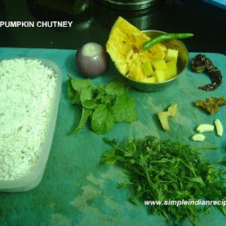 Red Pumpkin Chutney