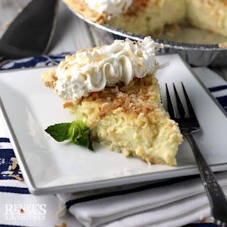 Coconut Custard Pie.