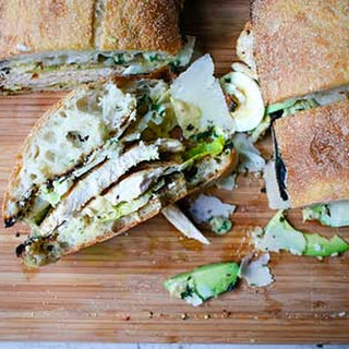 Best-Ever Grilled Chicken Caesar Salad Sandwich