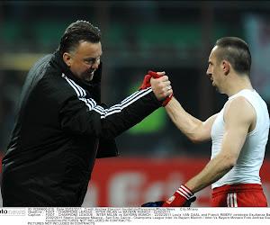 Luis Van Gaal taille Franck Ribéry