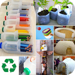 DIY Recycled Crafts icon