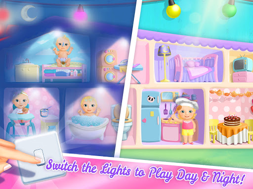 Sweet Baby Girl Doll House - Play, Care & Bed Time 1.0.76 screenshots 11