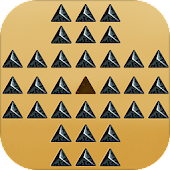 Sphinx Solitaire - Pyramid Peg Solitaire Puzzle