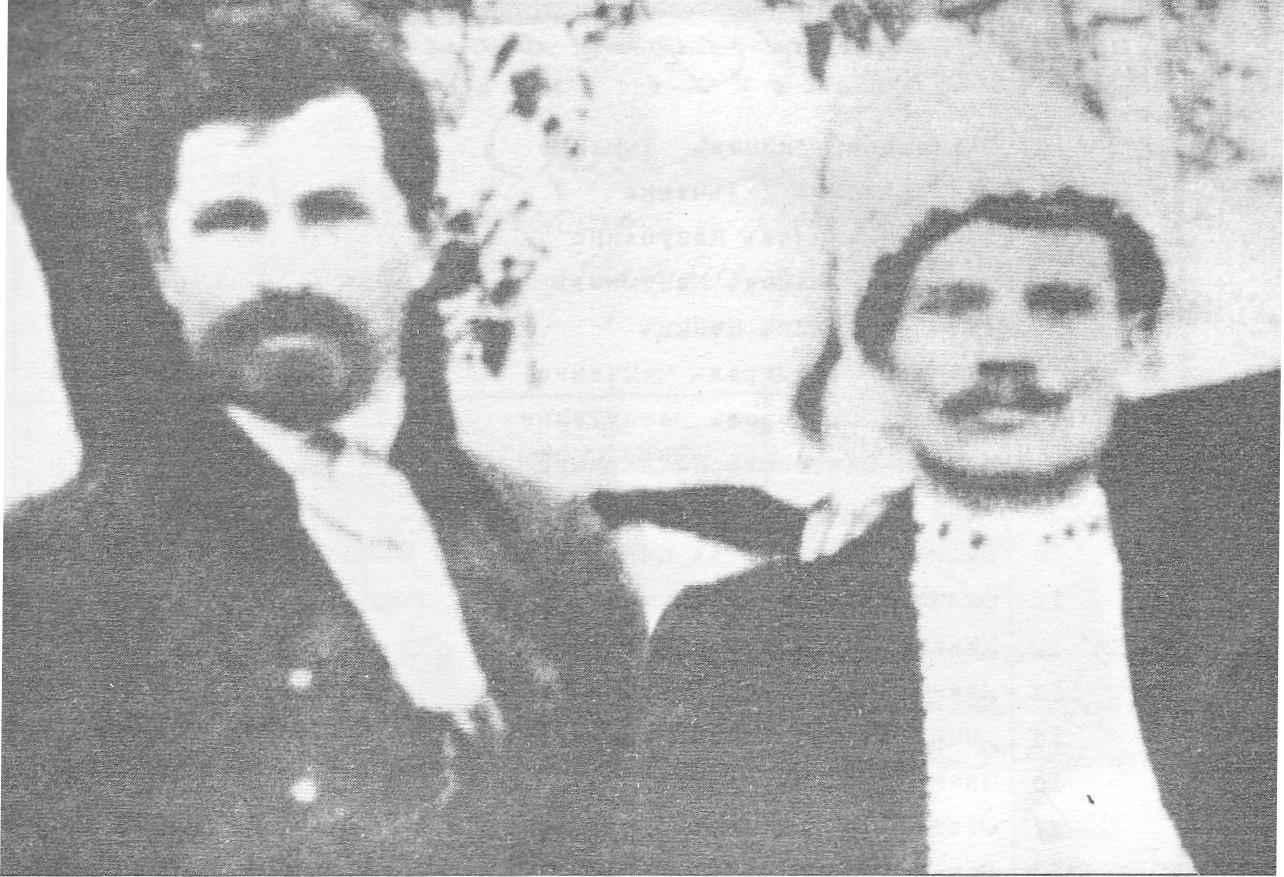 Перші організатори Вільного козацтва Никодим Смоктій (зліва) та Семен Гризло