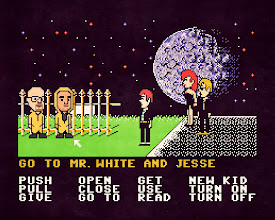 """Photo: """"Breaking Bad at the Maniac Mansion"""" (2013)  https://en.wikipedia.org/wiki/Breaking_Bad https://en.wikipedia.org/wiki/Maniac_Mansion"""