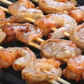 Grilled Shrimp Tacos with Cilantro Sauce Recipe