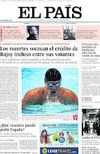 Photo: Los recortes socavan el crédito de Rajoy incluso entre sus votantes y Lochte castiga a Phelps en su primer duelo, en la portada del domingo 29 de julio de 2012 http://ep00.epimg.net/descargables/2012/07/29/3adc7baee8bd1df54b72d118477f5fc3.pdf