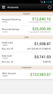North County CU Mobile Banking- screenshot thumbnail