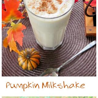 Pumpkin Milkshake #PumpkinWeek.