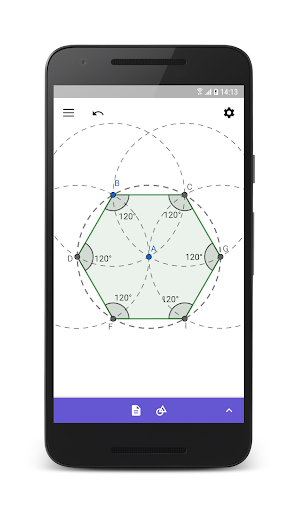GeoGebra Geometry 5.0.526.0 gameplay | AndroidFC 2