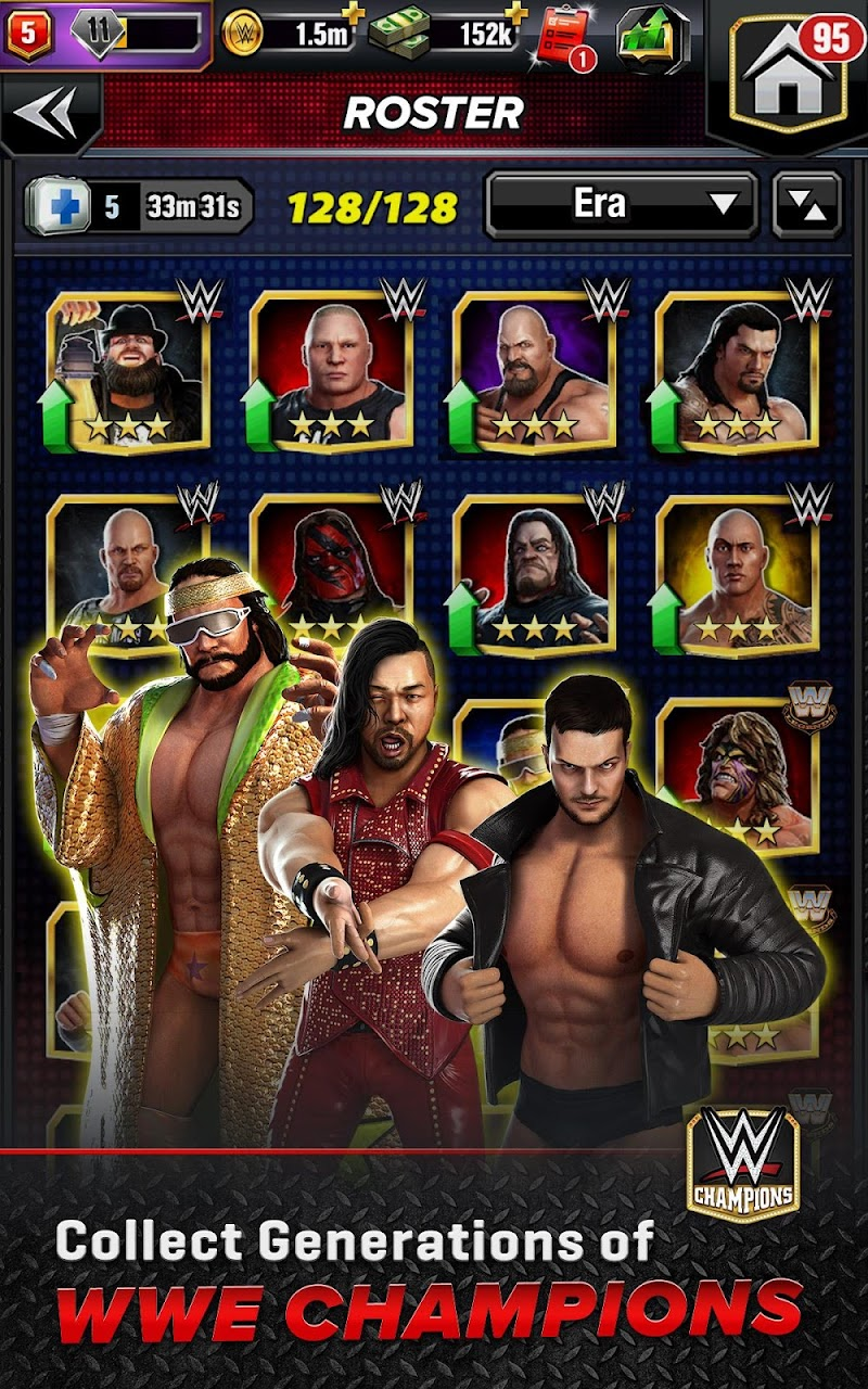 WWE Champions - Free Puzzle RPG Game Screenshot 18