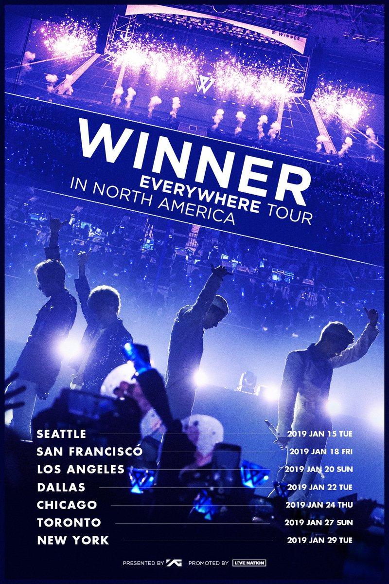 winner everywhere tour
