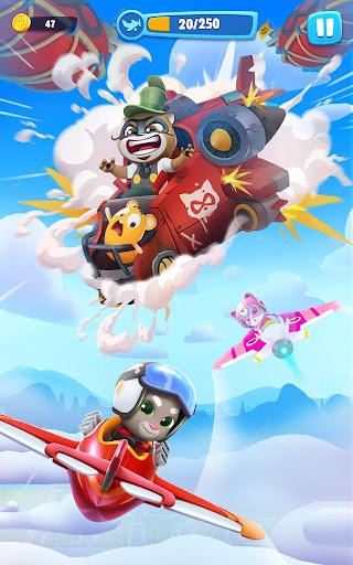 Talking Tom Sky Run: The Fun New Flying Game apktram screenshots 9