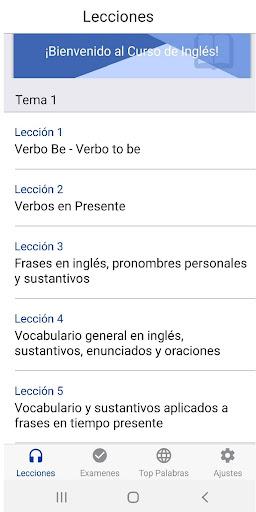 Curso de Inglés Gratis 6.5 screenshots 1