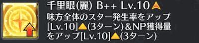 千里眼(麗)[B++]