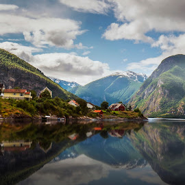 by Richard  Harris - Buildings & Architecture Homes ( norway, aurland )