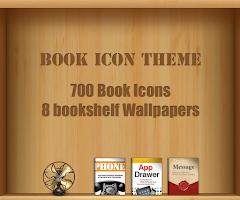Screenshot of Book GO launcher theme