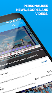 ESPNCricinfo – Live Cricket Scores, News & Videos  App Download For Android 2
