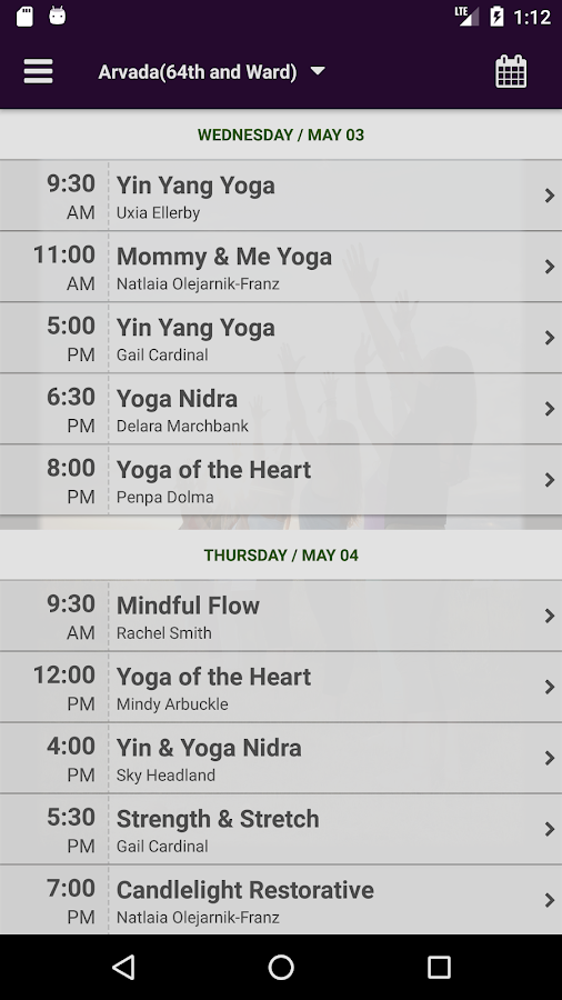 Maitri Yoga Center- screenshot