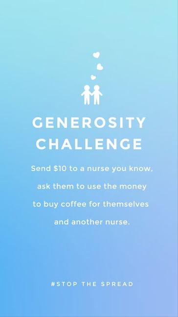 Generosity Challenge - Facebook Story Template