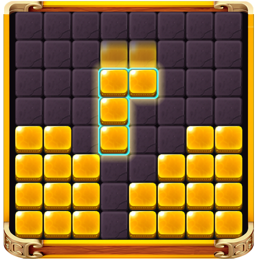 Golden Block Puzzle