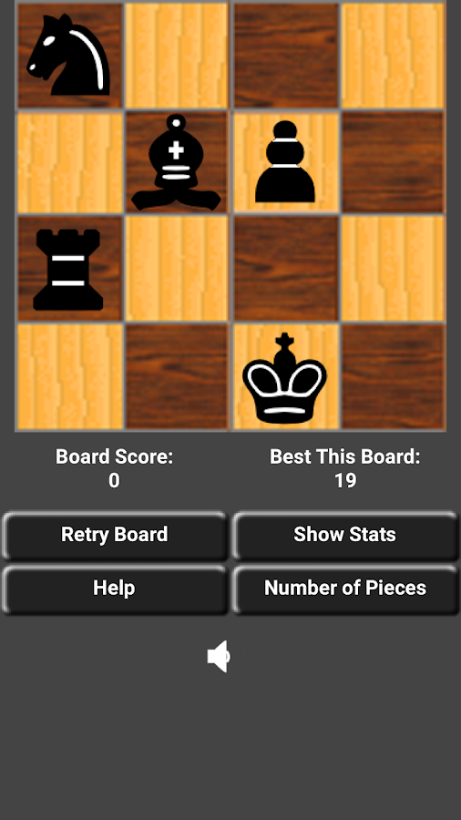 4x4 Solo Mini Chess Brain Teaser Puzzle Games- screenshot