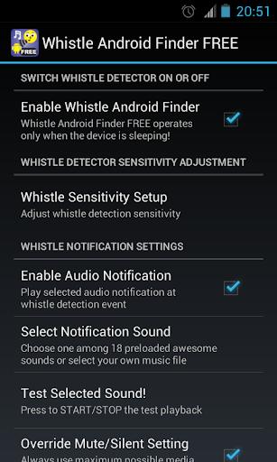 Whistle Phone Locator screenshot 2