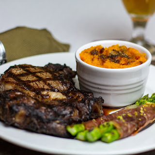 Brown Sugar & Bourbon Steaks.