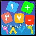 تعليم الرياضيات للاطفال - math for kids icon