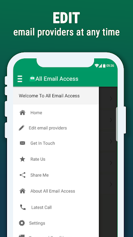 All Email Access with call screening Screenshot