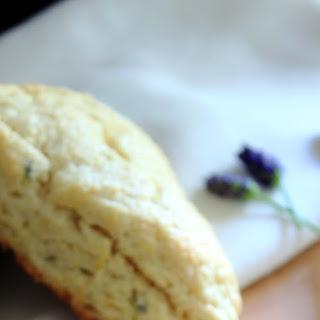 Lavender Lemon Scones.
