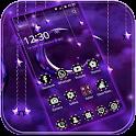 Moon Night Theme Purple moon icon