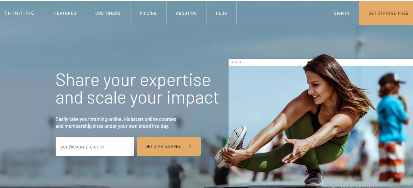 Online Course Platform - Thinkific