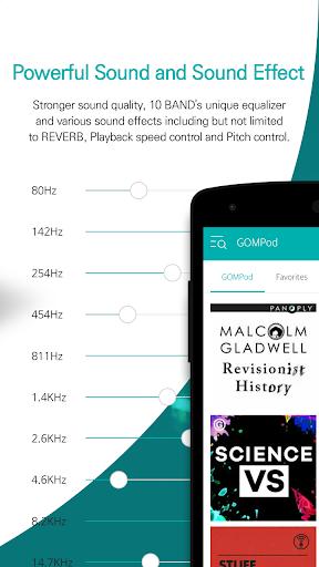 GOM Audio Plus - Music, Sync lyrics, Streaming  screenshots 10
