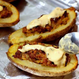 Sausage-Stuffed Potatoes
