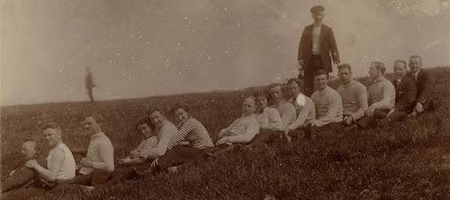 Photo: 1912 Odense-roere ved Stige Ø.