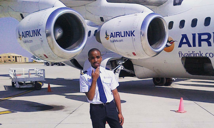 Nonkululeko Sokweba says since the age of four he knew exactly what he wanted to do with his life: become a pilot.