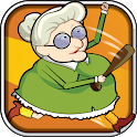 Running Granny Against Zombie icon