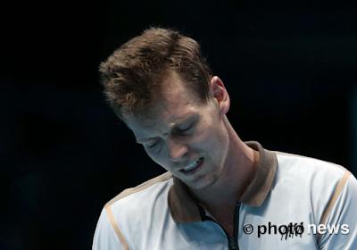Berdych renonce aux tournois de Vienne et PAris-Bercy, saison termnée pour le Tchèque