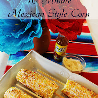 Mexican Style Corn In Ten Minutes